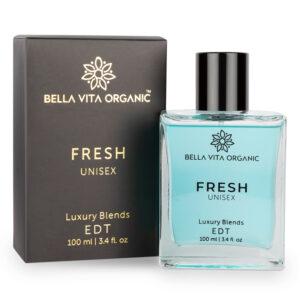 Bella Vita Organic Fresh Unisex Perfume For Men & Women with Woody Aquatic Scent EDT Fragrance - 100 ml