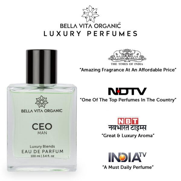 Bella Vita Organic CEO Men Perfume Office Wear - 100 ml