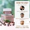 Bella Vita Organic NoseGlow Natural Nose Scrub for Blackheads and Whiteheads - 20 gm