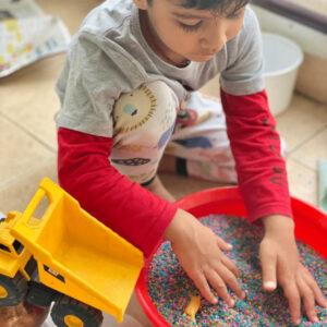 Rainbow Rice for Sensory Play (1 KG)