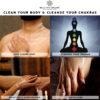 Bella Vita Organic Chakra Cleanse - Aura Boosting Natural Body Wash With Himalayan Rock Salt & Essential Oils - 225 ml