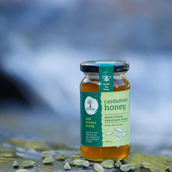 Last Forest Cardamom Spiced Wild Honey 250gms