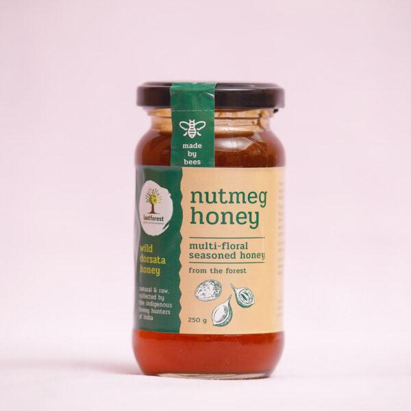 Last Forest Nutmeg Spiced Wild Honey 250gms