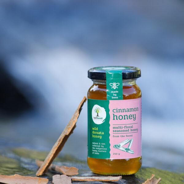 Last Forest Cinnamon Spiced Wild Honey 250gms