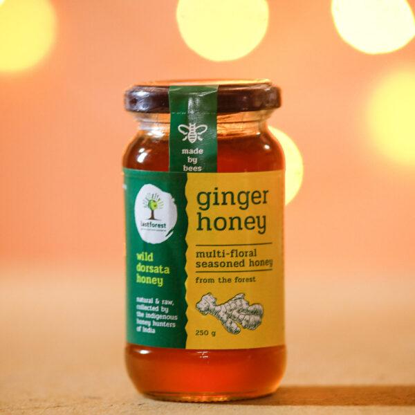 Last Forest Ginger Spiced Wild Honey 250gms