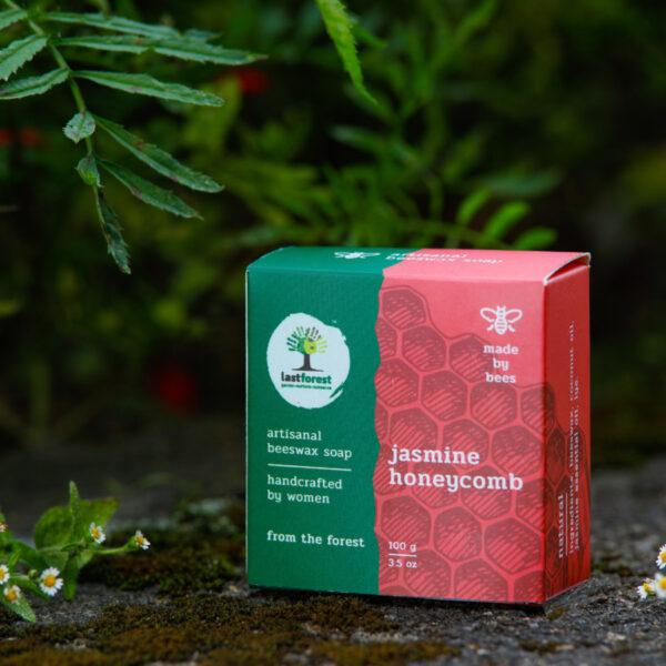 Last Forest Artisanal, Handmade Beeswax Honeycomb Soap 100gms Jasmine