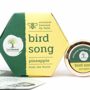 Last Forest Artisanal, Handmade Beeswax Lip Balm Pineapple
