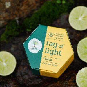Last Forest Artisanal, Handmade Beeswax Lip Balm Lemon