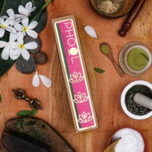 Phool Meditation Combo Pack - Natural Incense Sticks Nagchampa & Patchouli
