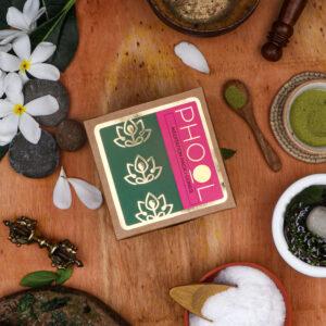 Phool Meditation Combo Pack - Natural Incense Cones Nagchampa & Patchouli