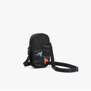 Sea Turtles Crossbody Mobile Sling Bag (Black)