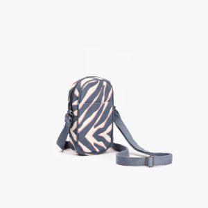 Tiger Stripes Crossbody Mobile Sling Bag (Brown)