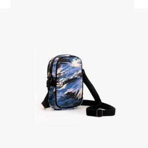 Deep As The Ocean Crossbody Mobile Sling Bag (Natural)