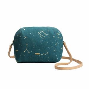 The Night Sky Crossbody Sling Bag (Green)
