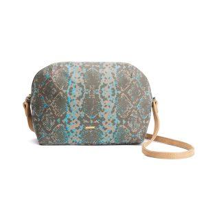 Snake Love Crossbody Sling Bag (Natural)
