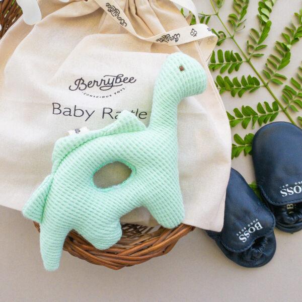 BABY RATTLE-DINO