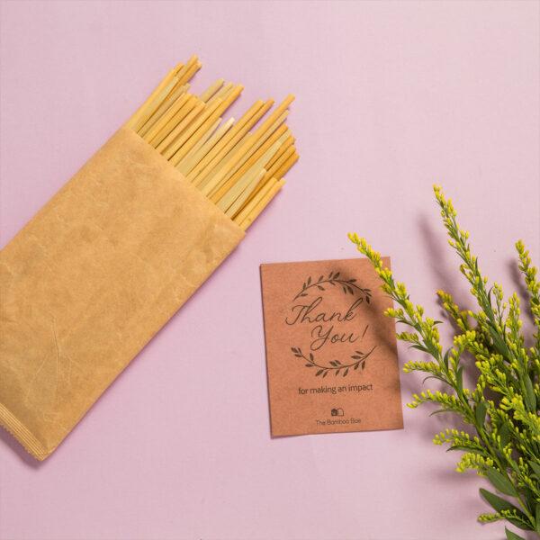 Natural Disposable 100 Straws   Wheat Stem Hay Biodegradable Straws   Zero Plastic & Eco friendly
