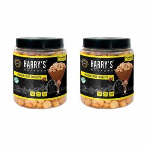 Harry's Makhana Foxnuts / Lotus Seeds / Phool Makhana - Roasted Fox Nuts, Indian Chat Flavoured Healthy Snacks (Each 80 gm) Pack of 2