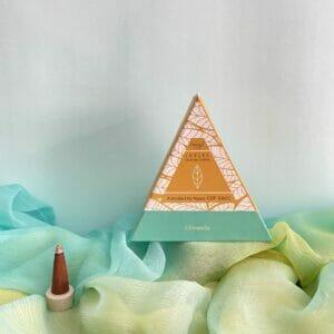 Esscent Flower-Based Citronella Incense Cones