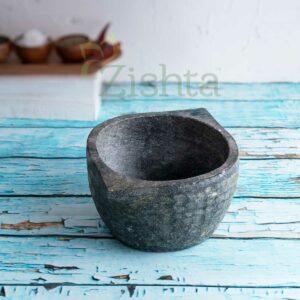 Zishta Soapstone Cookware Kalchatti Treated - Small