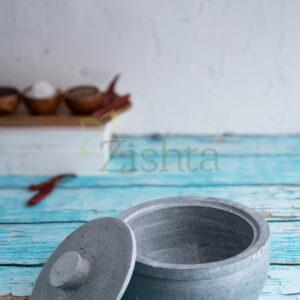 Zishta Soapstone Cotainer - Medium