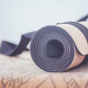 Cork Yoga Mat - Recycled Eva