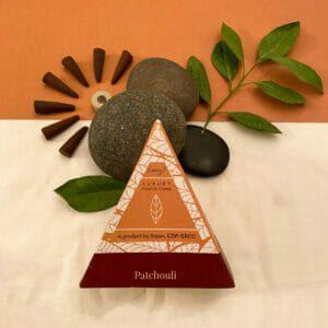 Esscent Flower-Based Patchouli Incense Cones