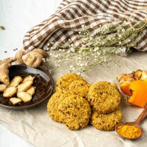 Ginger Turmeric Cookies - 105 g