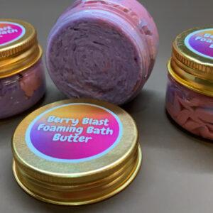 Berry Blast Foaming Bath Butter