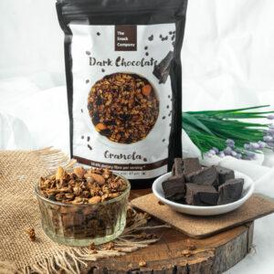 Dark Chocolate Granola 500 g - Healthy Breakfast Cereal