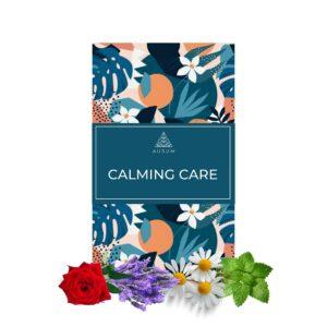 Ausum Tea Calming Care (15 Teabags) - For Pregnant Women and New Moms - Chamomile, Rose, Lavender & Lemon Balm - Caffeine Free - 100% Herbal Tea