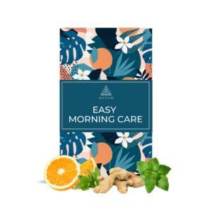 Ausum Tea Easy Morning Care (15 Teabags) - Best for Morning Sickness for Pregnant Women - Peppermint, Lemon Balm, Ginger, Orange peel and Natural Orange oil extract - During Pregnancy - Caffeine Free - 100% Herbal Tea