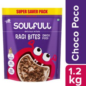 Soulfull Ragi Bite ChocoPoco 1.2 kg -No Maida