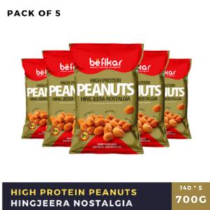 Peanuts (Hing Jeera Nostalgia) - Pack of 5
