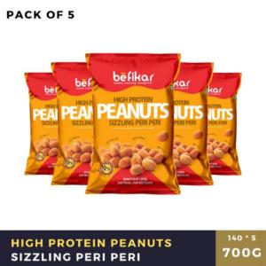 Peanuts (Sizzling Peri Peri) - Pack of 5
