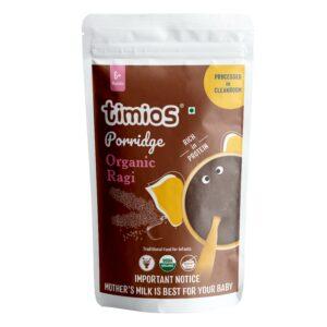 Timios Organic Ragi Porridge for 6+ Months