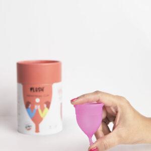 Plush Menstrual Cup (PLUP)- Size 'L'