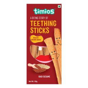 Timios Teething Sticks Ragi Sesame (150 g)
