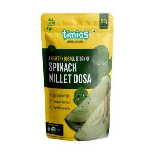 Timios Organic Spinach Dosa Mix 150g