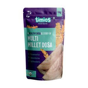 Timios Organic Multi Millet Dosa Mix 150g