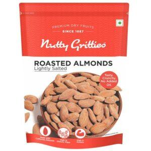 Nutty Gritties Jumbo Roasted Almonds, lightly salted - 200 g