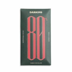 80% Single Origin Dark Chocolate- Karnataka - Pack of 2