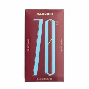 70% Dark Chocolate- Single Origin cacao from Andhra Pradesh - Pack of 2