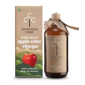 Conscious Food Organic Apple Cider Vinegar, 500ml