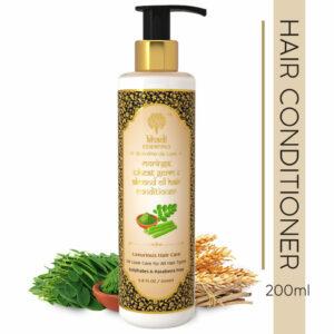 Khadi Essentials Moringa, Wheat Germ & Almond Oil Hair Conditioner -Luxurious Hair Care