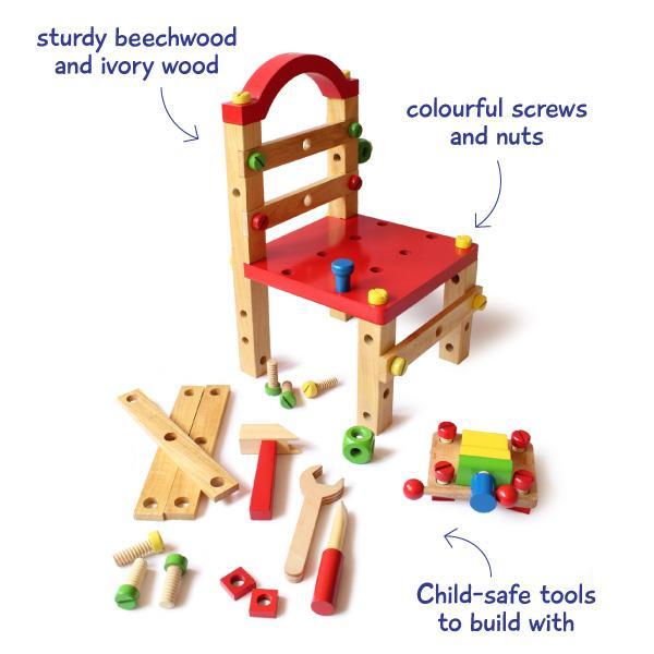 Shumee Build A Chair DIY Set