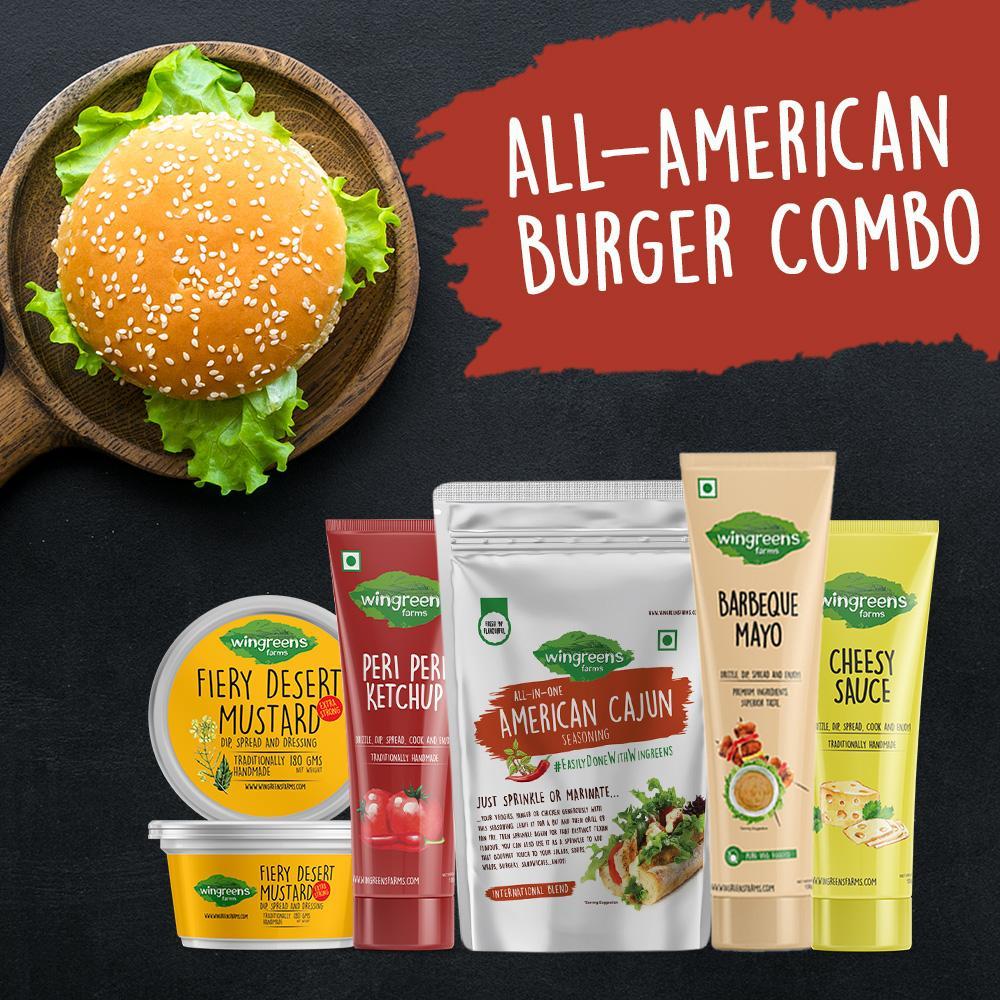 All-American Burger Combo (620g)