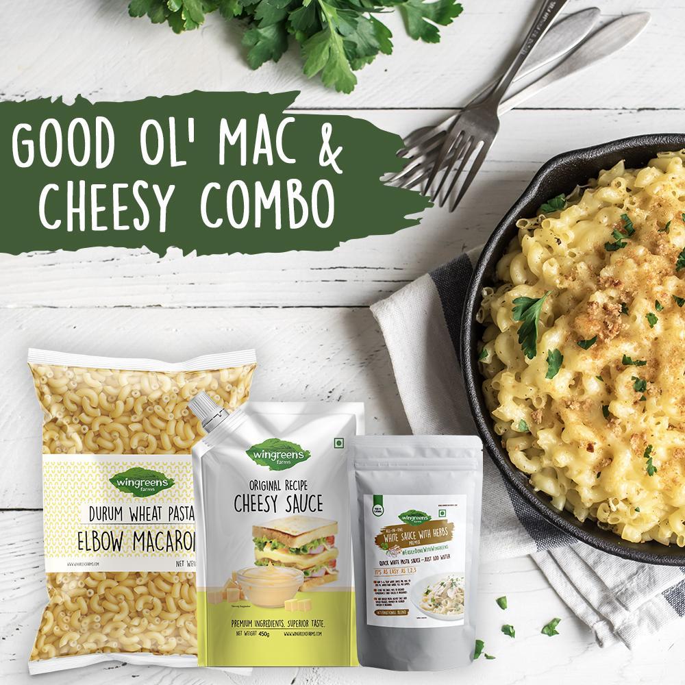 Good Ol' Mac & Cheesy Combo (1000g)