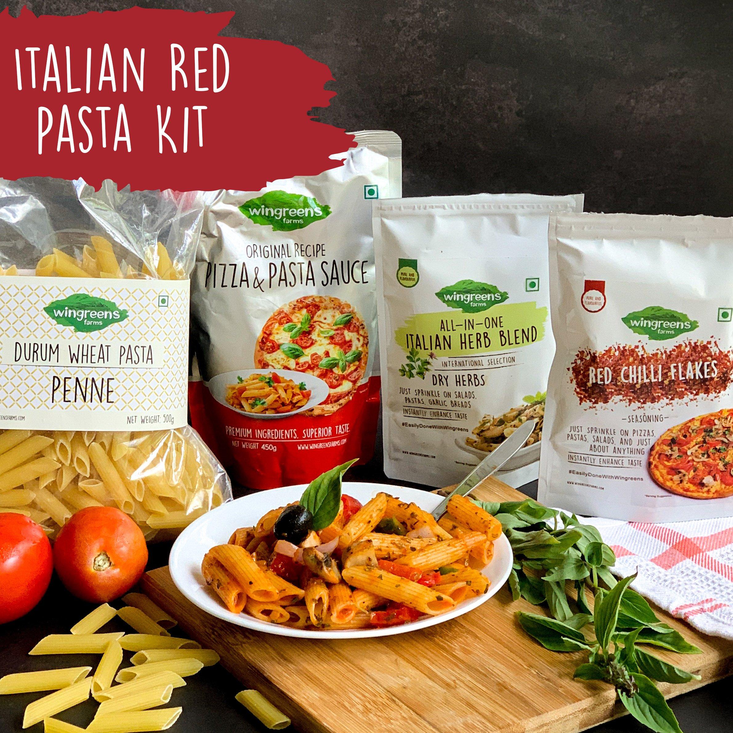 Italian Red Pasta Kit (930g)