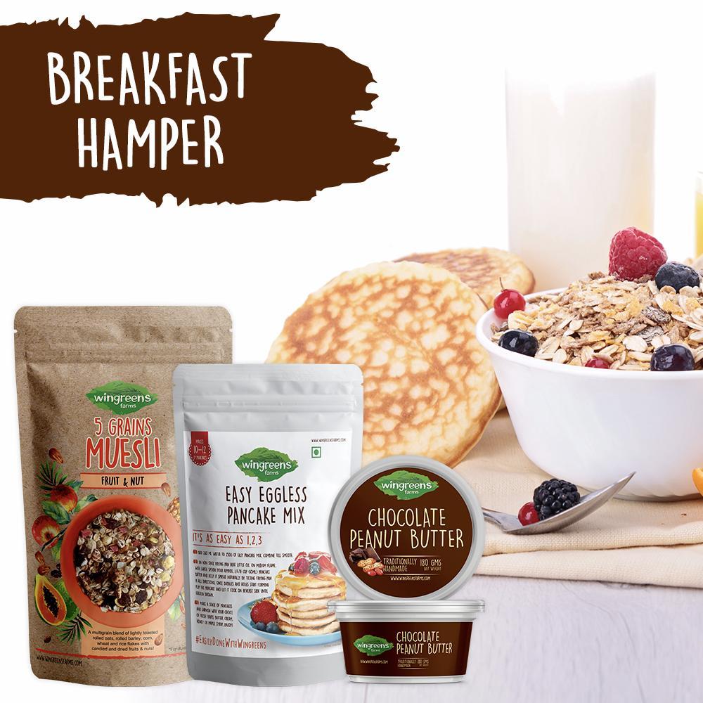 Breakfast Hamper (Combo, 830g)